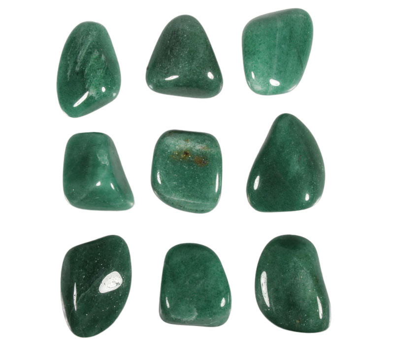 Aventurijn (groen) steen getrommeld 20 - 30 gram