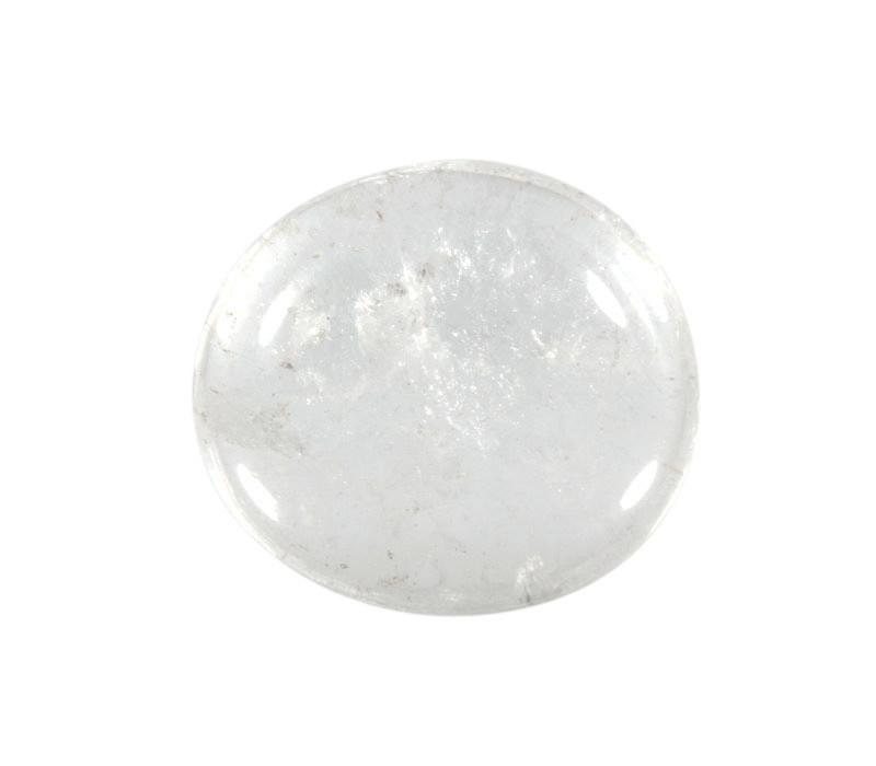 Bergkristal steen plat gepolijst
