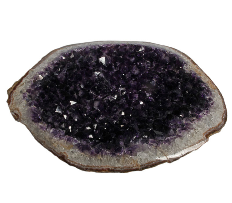 Amethist geode 30,5 x 23 x 10 cm   5,34 kg