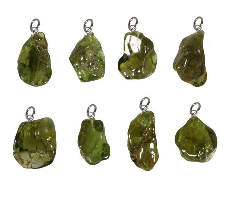 Peridoot hanger 3 - 5 gram
