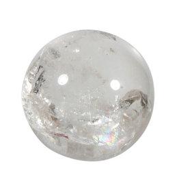 Bergkristal edelsteen bol A-kwaliteit 88 mm / 1090 gram