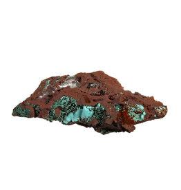 Rosasiet op matrix met seleniet kristal 8 x 4,5 x 1,8 cm | 72,7 gram