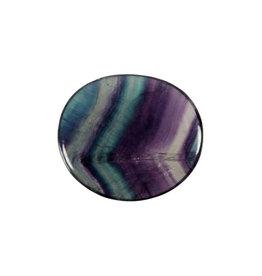Fluoriet (multi) steen plat gepolijst