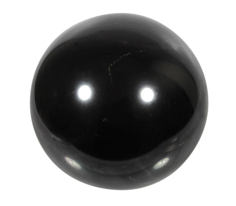 Shungiet edelsteen bol 95 mm | 1323 gram