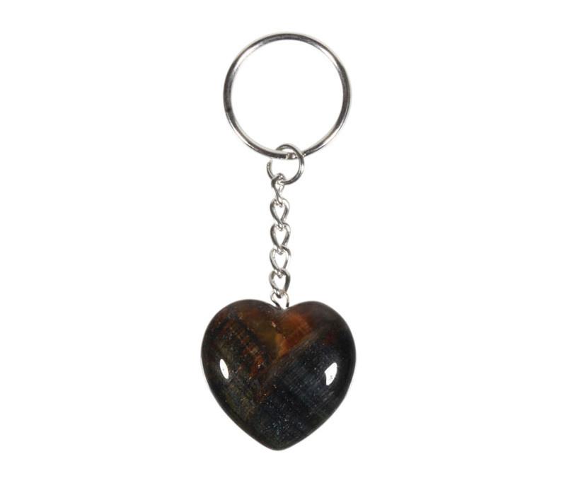 Valkenoog sleutelhanger hart