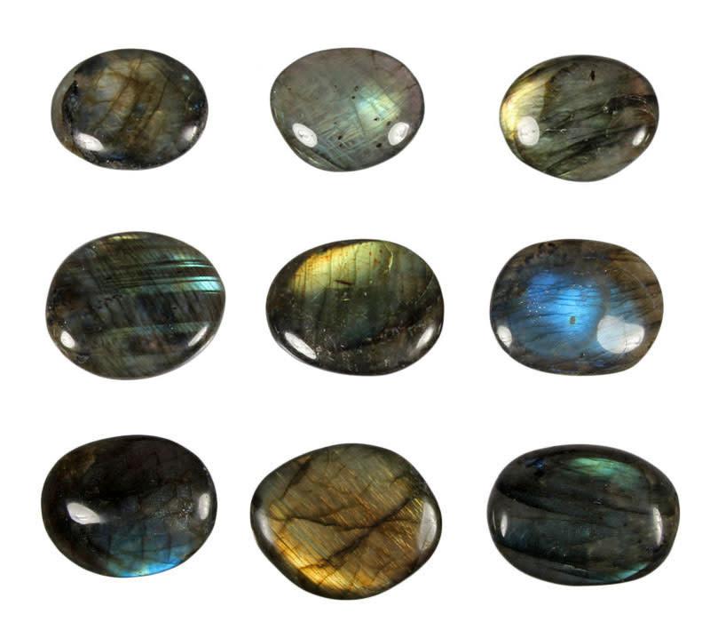 Labradoriet steen A-kwaliteit plat gepolijst