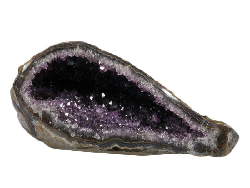 Amethist geode 17,5 x 7,5 x 7,5 cm | 928 gram
