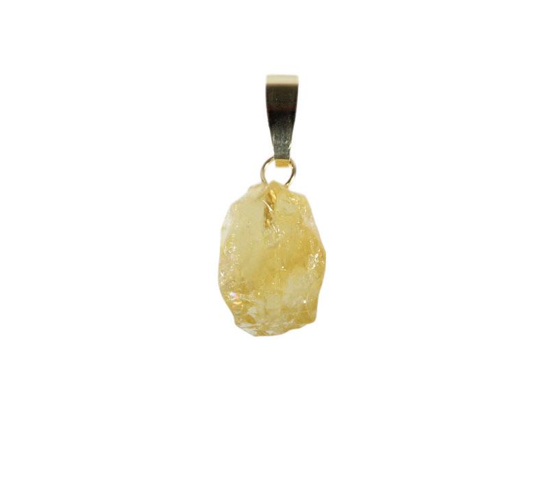 Chrysoberyl hanger met 14k gouden oogje