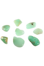 Chrysopaal steen getrommeld 1 - 2 gram