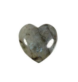 Labradoriet edelsteen hart 3 cm