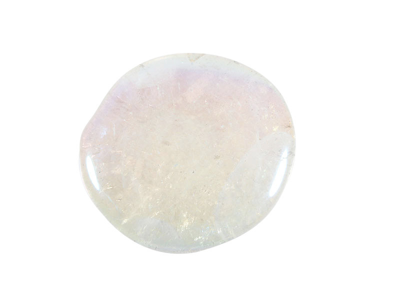Angel aura steen plat gepolijst
