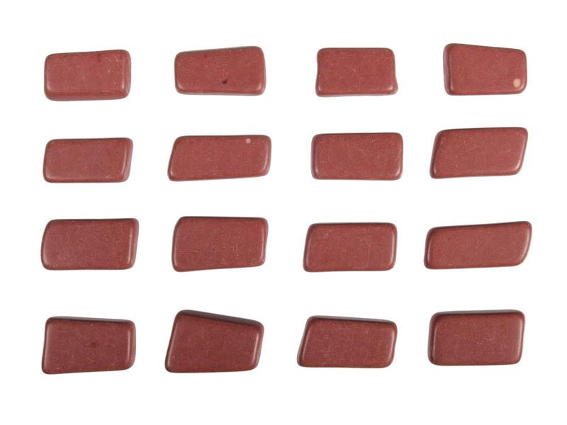 Catliniet of pijpsteen getrommeld 3 - 7 gram