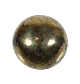 Chalcopyriet edelsteen bol 46 - 48 mm