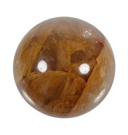 Golden healer edelsteen bol 66 mm | 402 gram