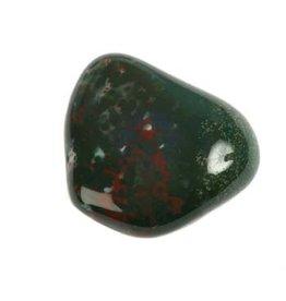 Heliotroop steen getrommeld 20 - 30 gram