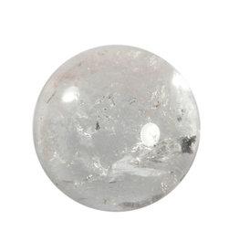 Bergkristal edelsteen bol 39 - 41 mm