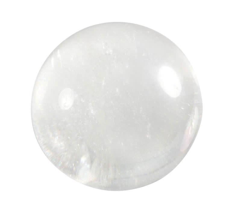 Bergkristal edelsteen bol 49 - 51 mm