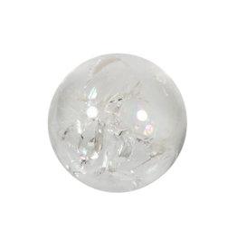 Bergkristal edelsteen bol 55 mm