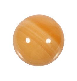 Calciet (oranje) A-kwaliteit edelsteen bol 51 - 53 mm