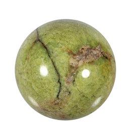 Opaal (groen) edelsteen bol 70 mm | 370 gram