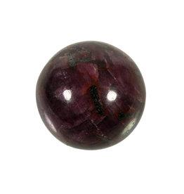 Robijn edelsteen bol 36 mm | 98 gram