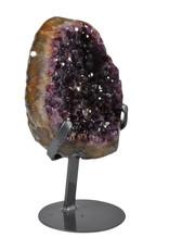 Amethist cluster 19 x 17 x 9 cm / 2730 gram | met standaard