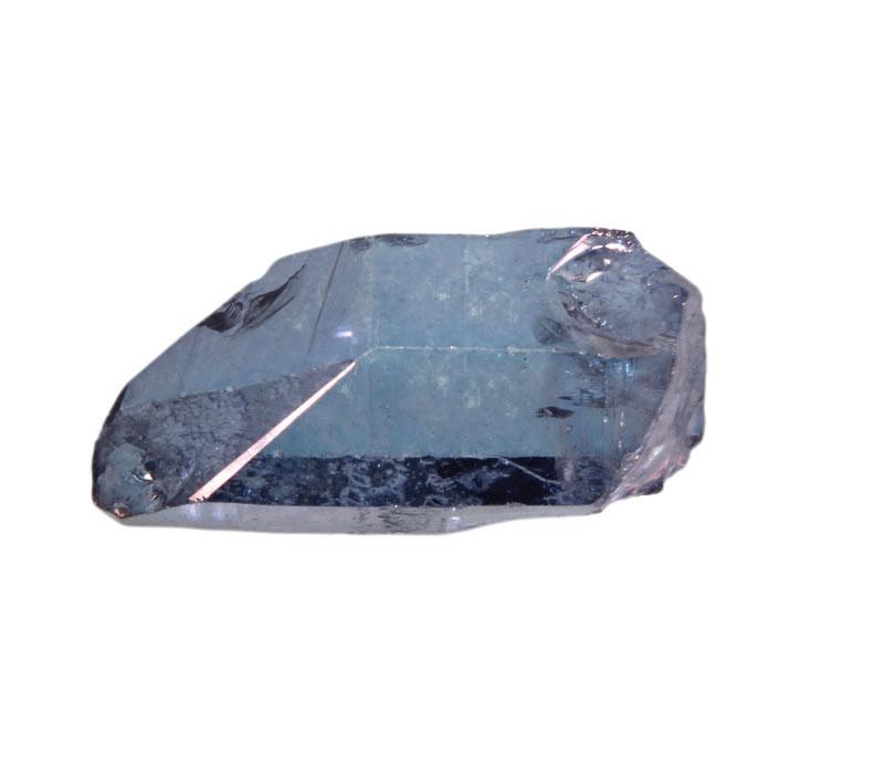 Tanzaniet aura kwarts kristal 5 - 10 gram