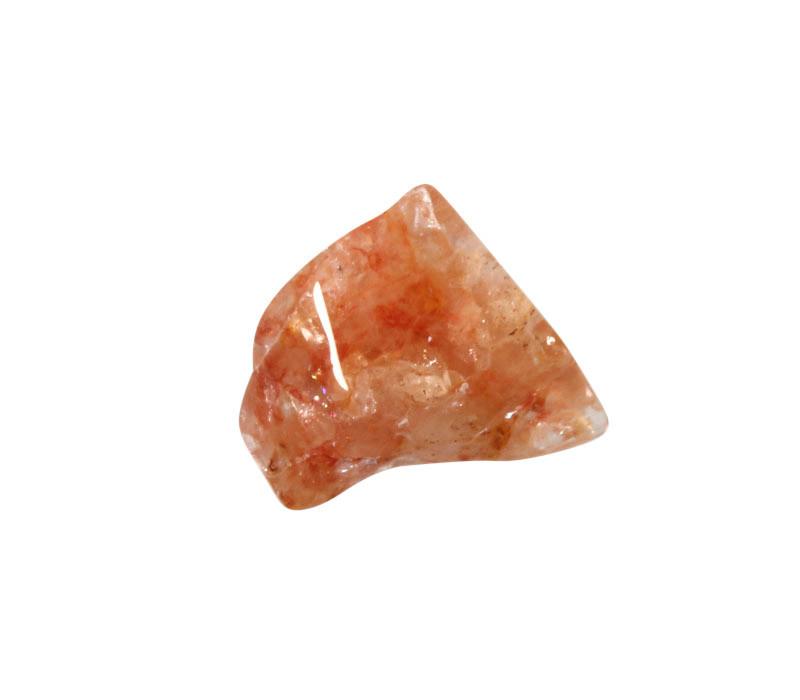 Azeztuliet (rode Himalaya) steen getrommeld 1,5 - 3,5 gram