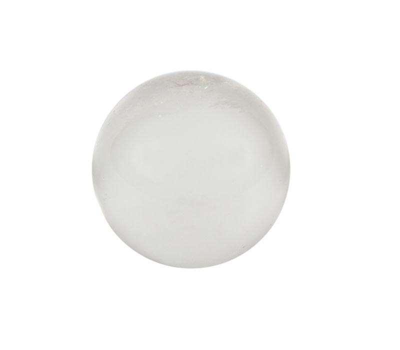 Bergkristal edelsteen bol A-kwaliteit 46,5 mm / 139 gram