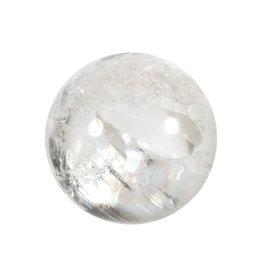 Bergkristal edelsteen bol A-kwaliteit 71 mm / 502 gram
