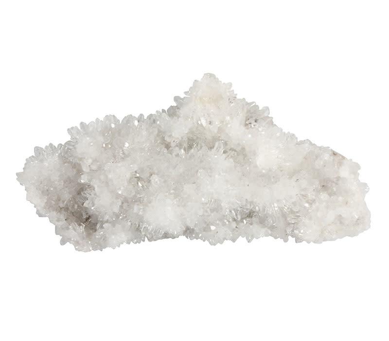 Bergkristal cluster 14 x 4,5 x 7 cm   450 gram