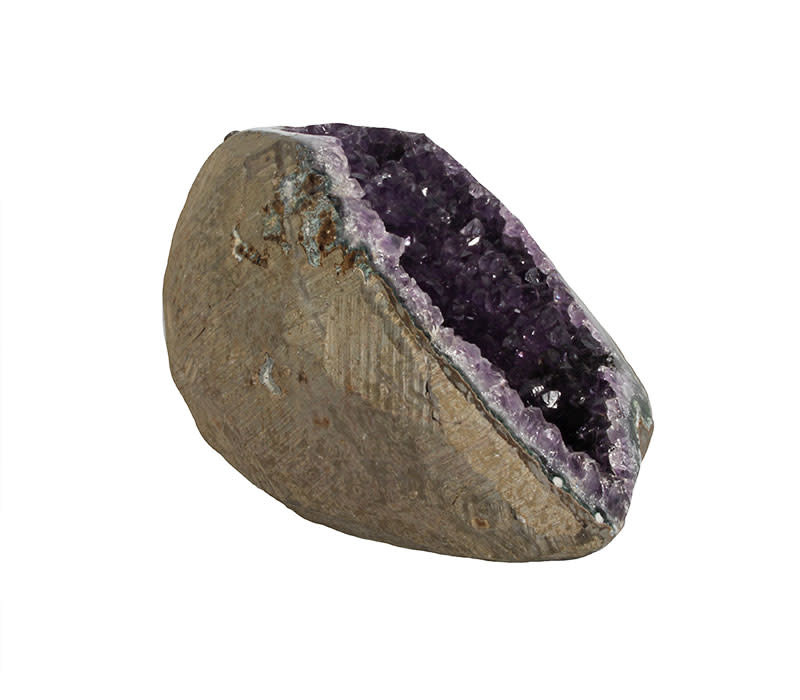 Amethist geode 16 x 11 x 8 cm | 1384 gram