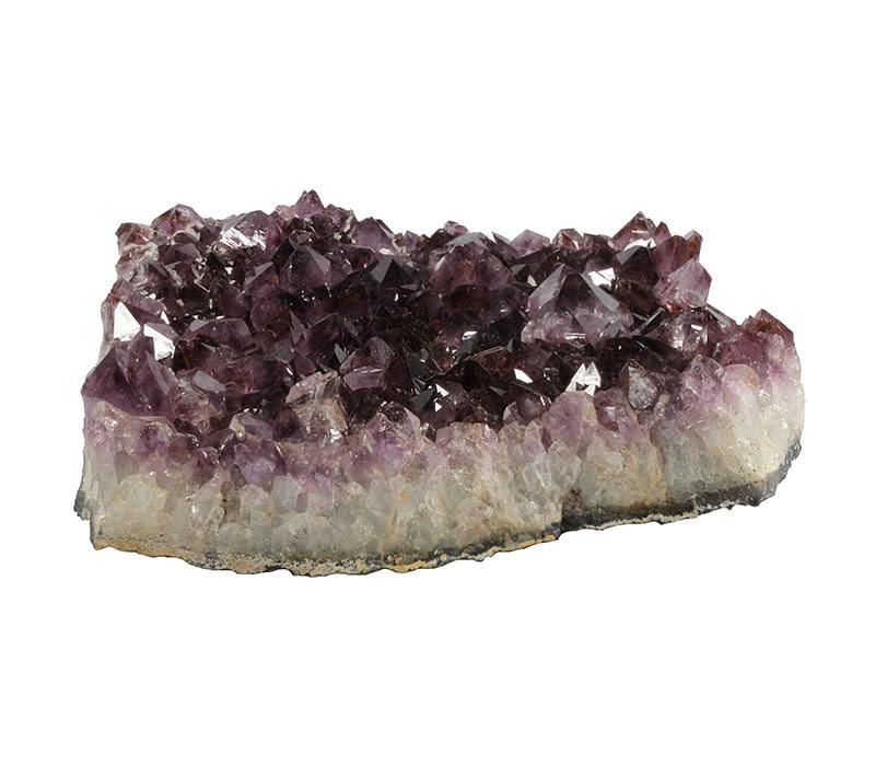 Amethist cluster 24 x 23 x 7,5 cm / 6180 gram