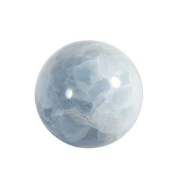 Calciet (blauw) edelsteen bol 65 mm | 410 gram