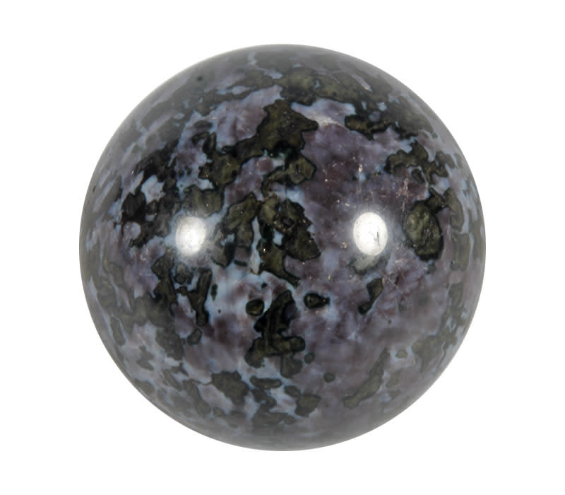Merliniet edelsteen bol 68 mm | 550 gram