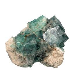 Fluoriet (groen) cluster 10 x 8 x 7 cm | 589 gram