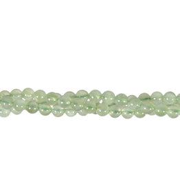 Prehniet kralen rond 6 mm (streng van 40 cm)