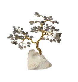 Labradoriet edelsteen boompje