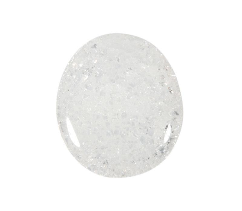 Iriskwarts steen plat gepolijst