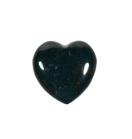 Heliotroop edelsteen hart 3 cm