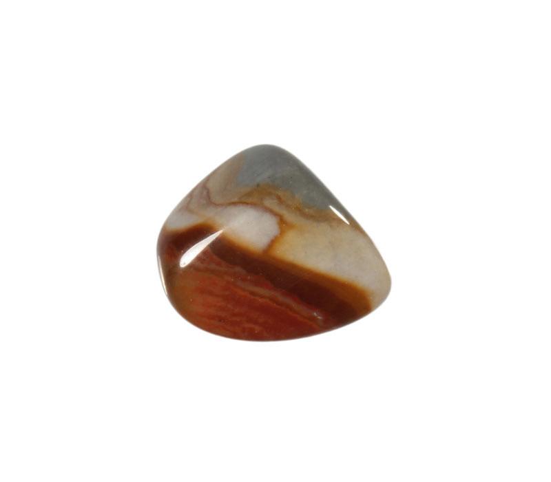 Jaspis (polychroom) steen getrommeld 2 - 5 gram