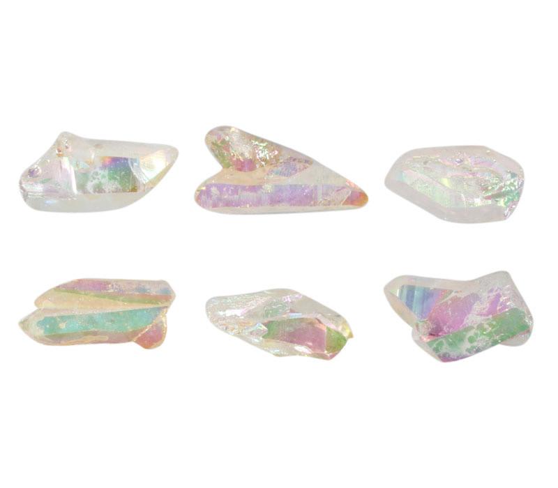 Angel aura (golden healer) kwarts kristal 10 - 18 gram