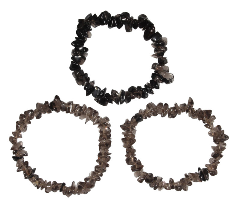 Obsidiaan (apachetranen) armband split