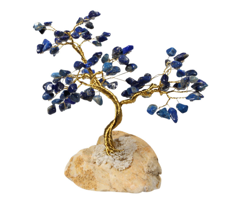 Lapis lazuli edelsteen boompje