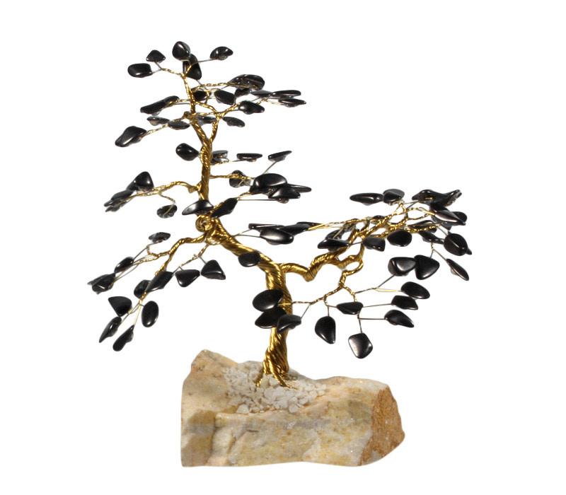 Shungiet edelsteen boompje