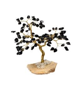 Toermalijn (zwart) edelsteen boompje