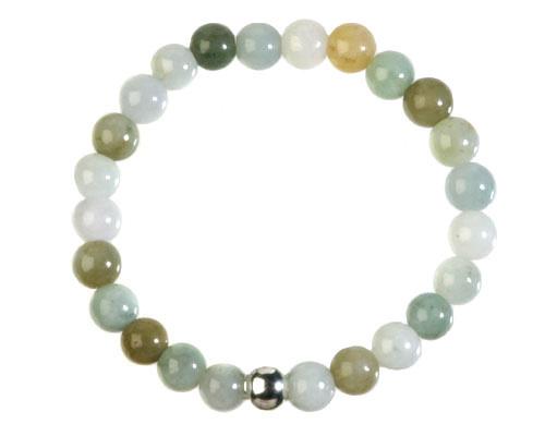 Jade (jadeiet) armband 20 cm   8 mm kralen