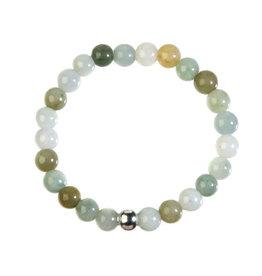 Jade (jadeiet) armband 18 cm | 8 mm kralen