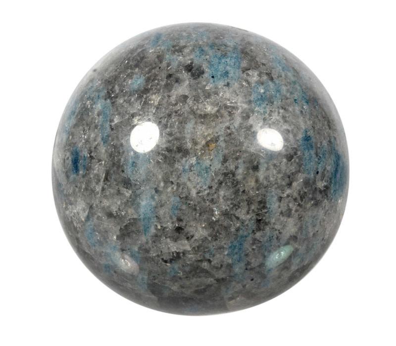 Ioliet met rookkwarts edelsteen bol 87 mm | 860 gram