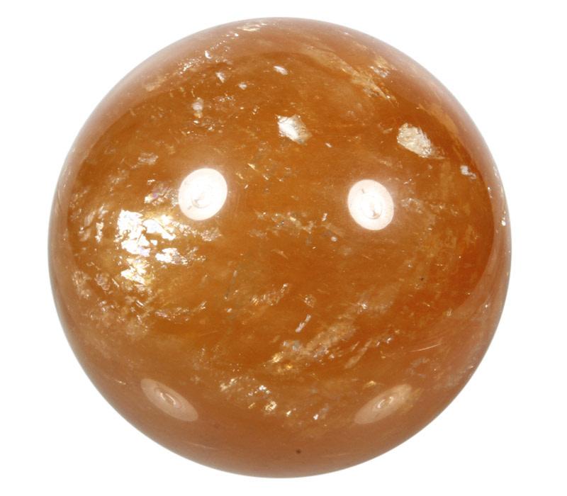 Calciet (honing) edelsteen bol 92 - 93 mm